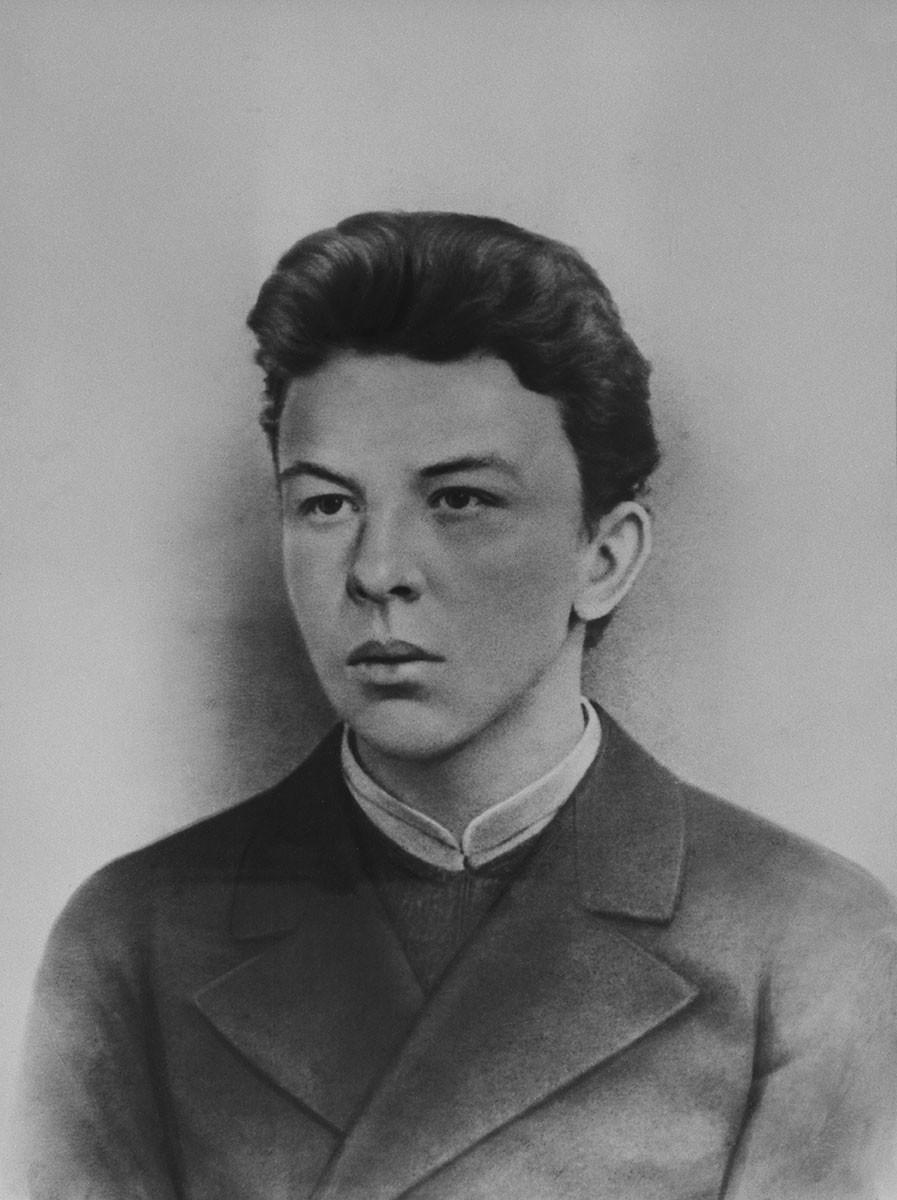 Alexander Ulyanov (1866-1887), Vladimir's older brother who was hanged.