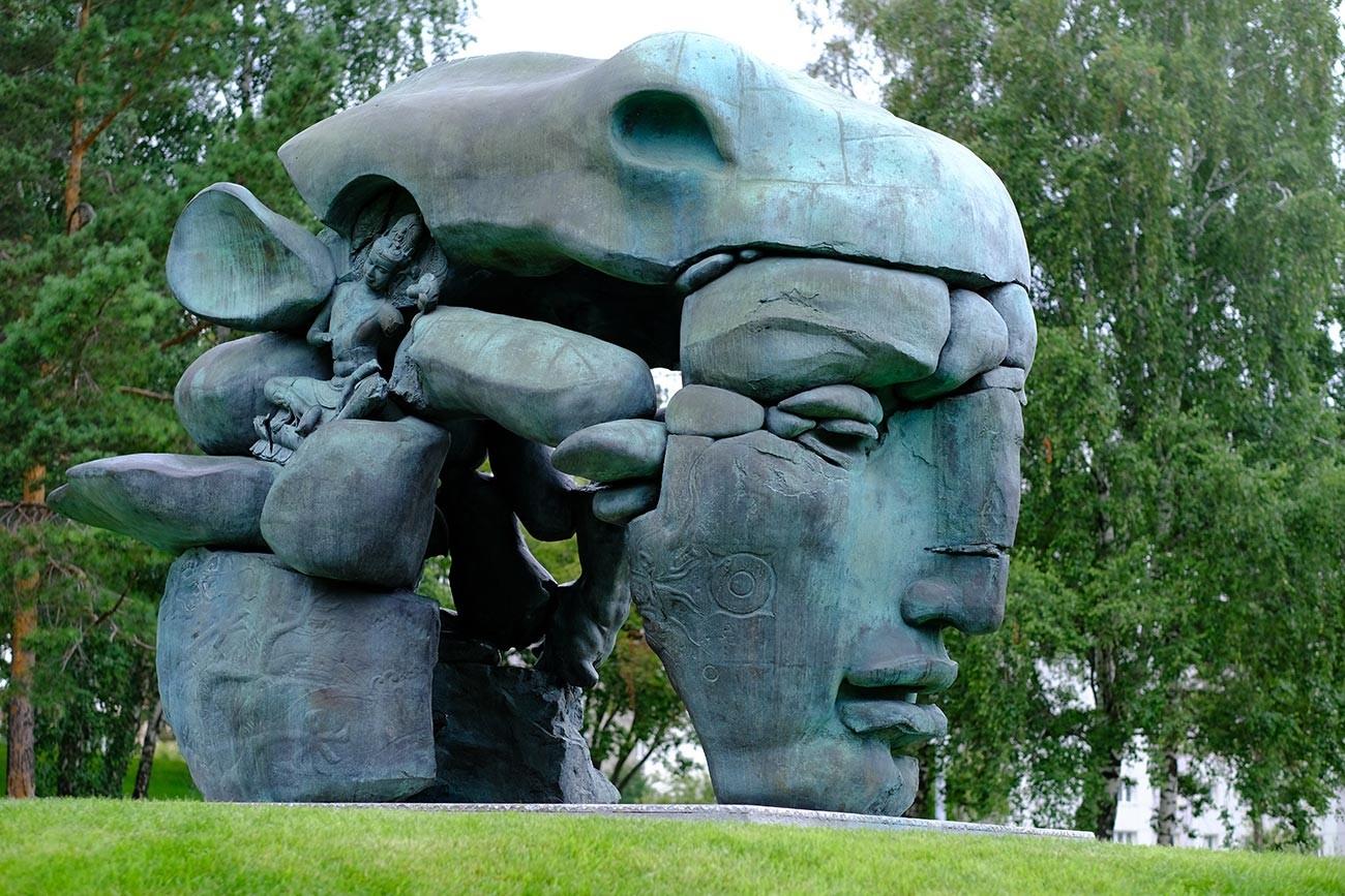 « Transformation », campus de l'Université fédérale de Sibérie, à Krasnoïarsk