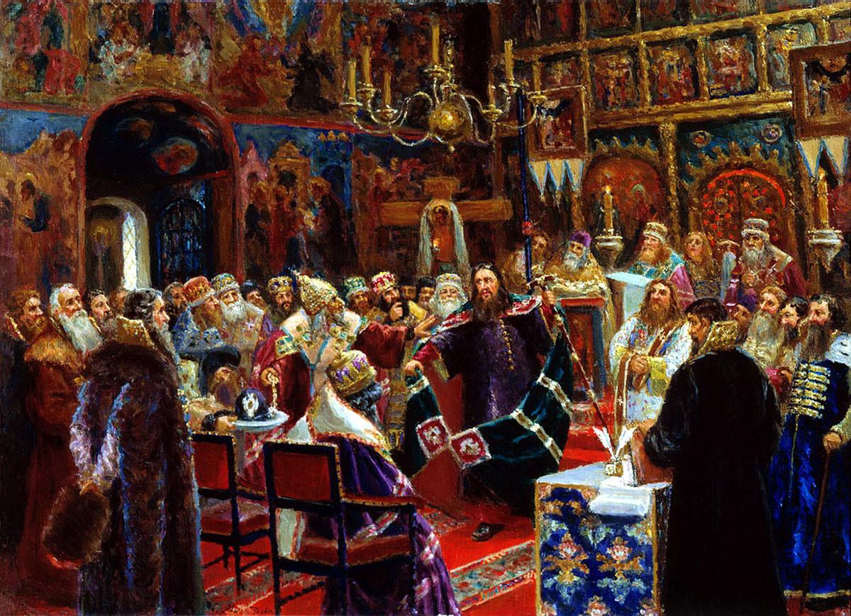 Sergei Miloradovich.  Patriarch Nikon's Court, 1885