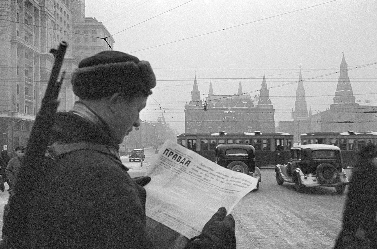 November 1941, Moskau