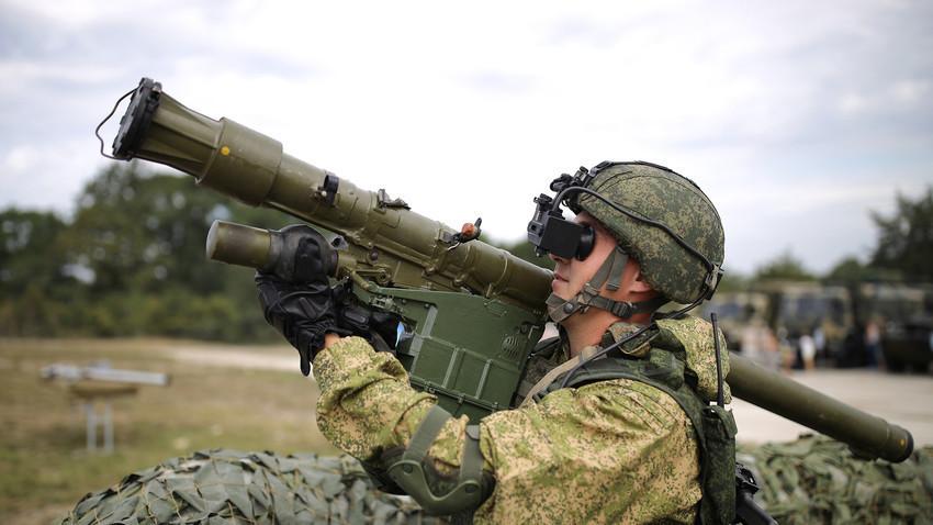 """Лека преносима ракетна система """"Верба"""""""