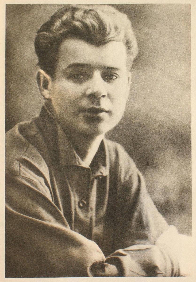 Sergei Yesenin, 1924