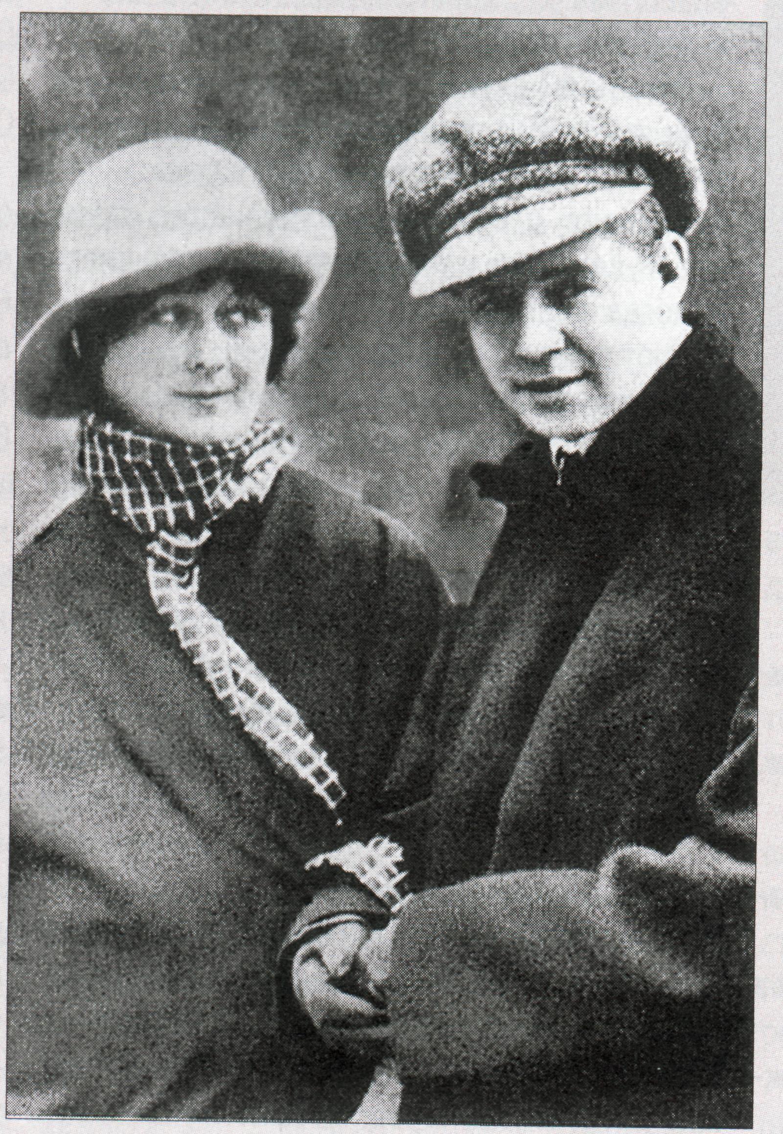 Sergei Yesenin and Isadora Duncan