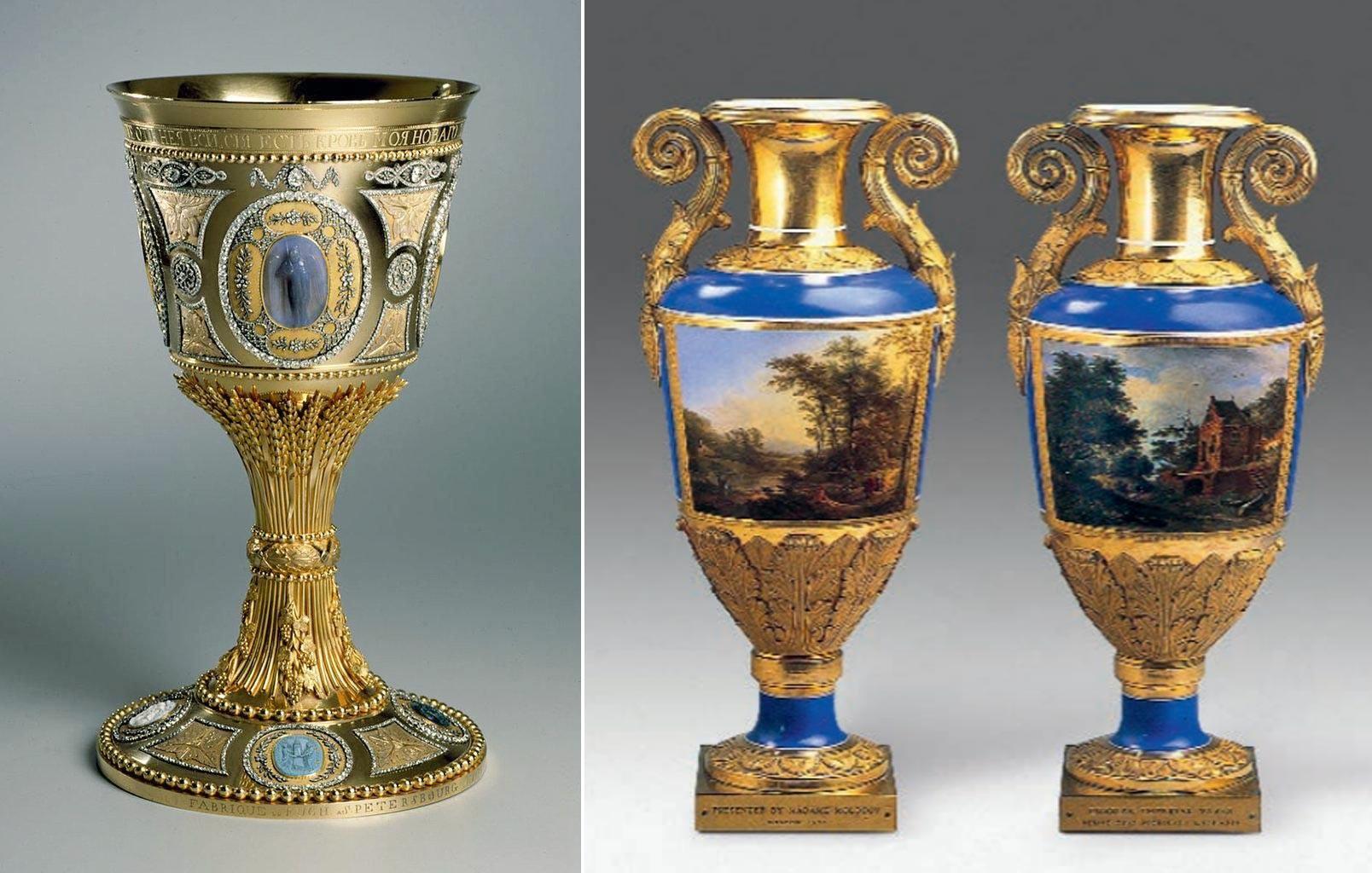 Imperial Porcelain vases