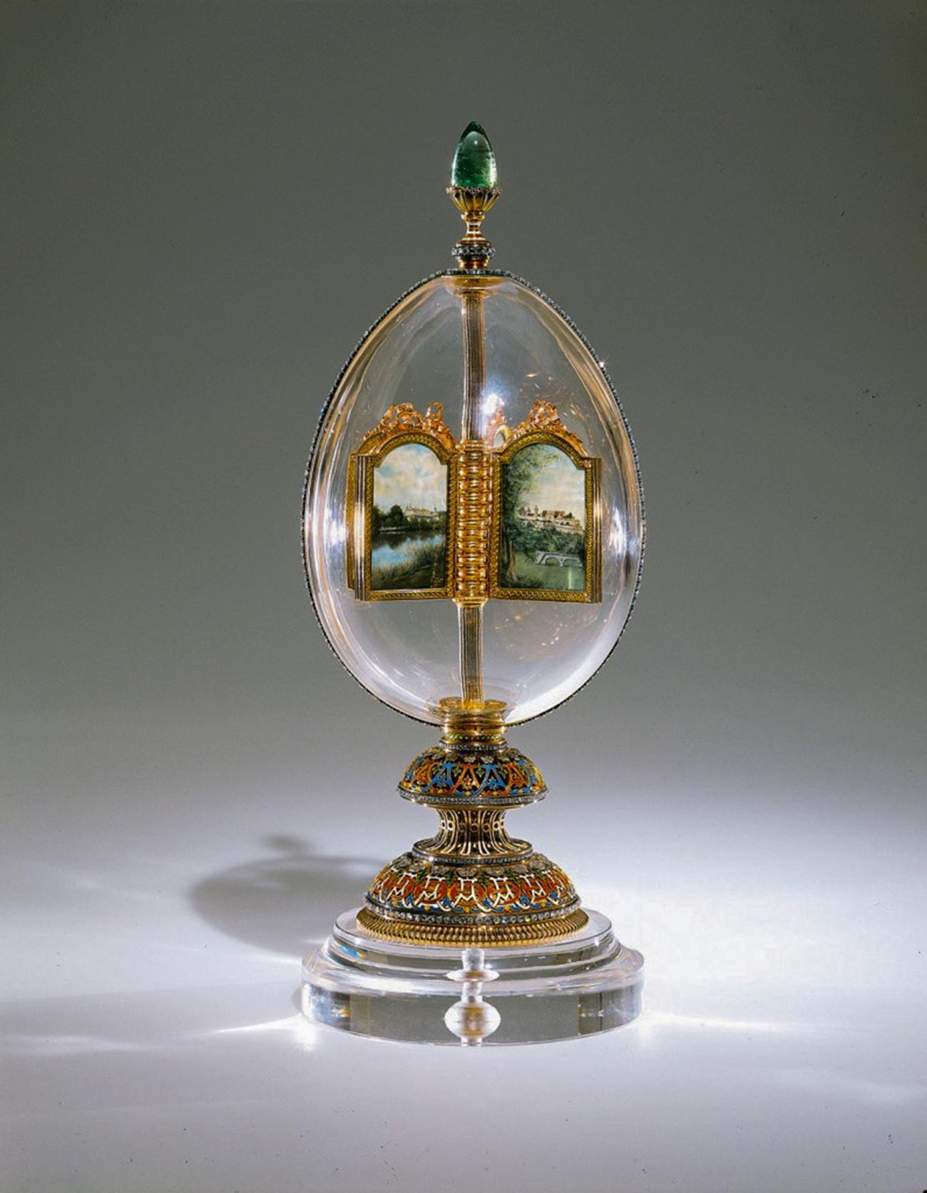 The Revolving Miniatures Faberge egg