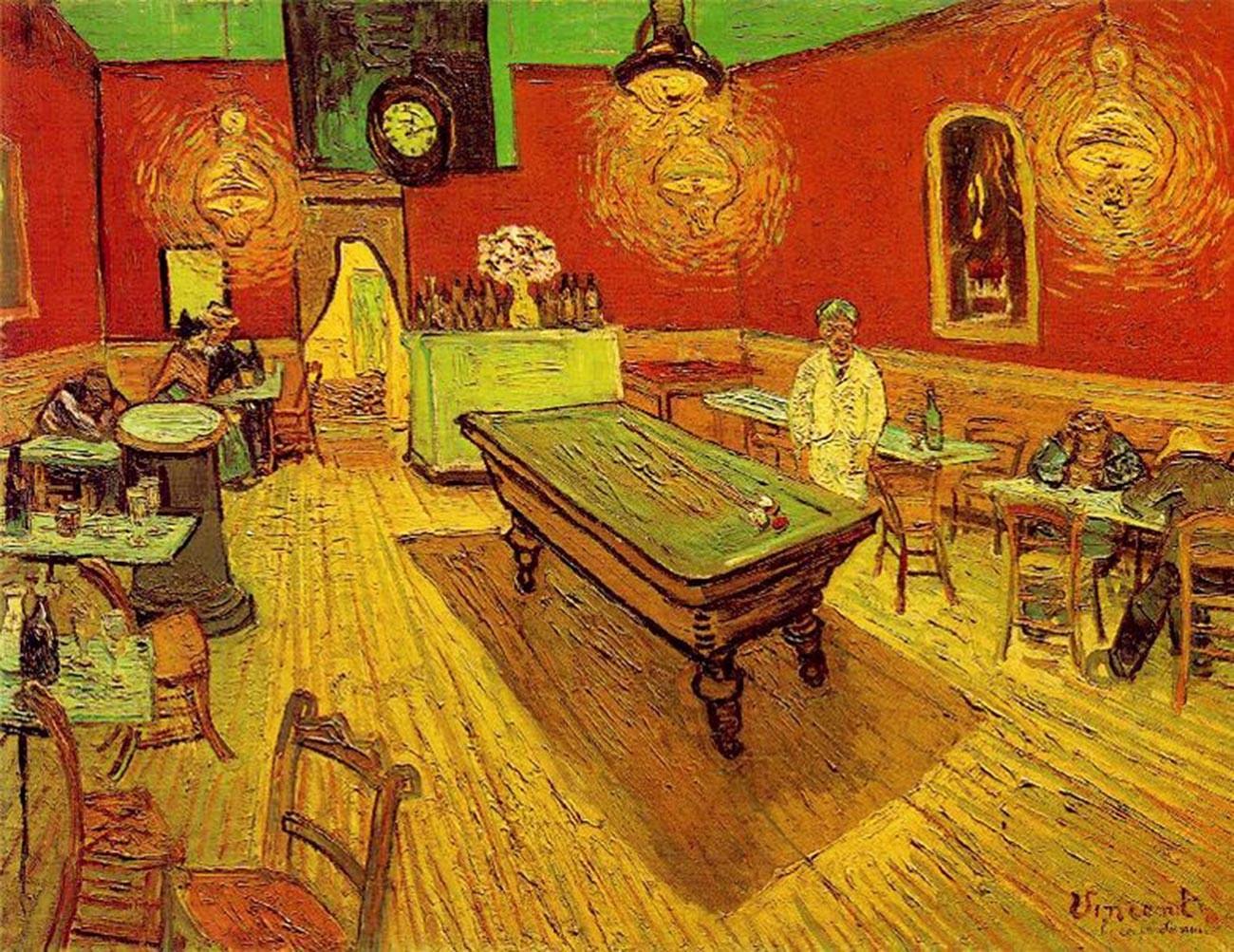 Vincent Van Gogh. The Night Café