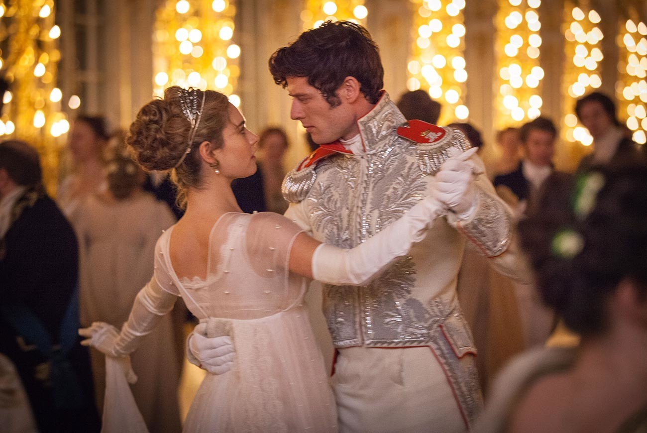 A still from 'War and Peace' BBC series