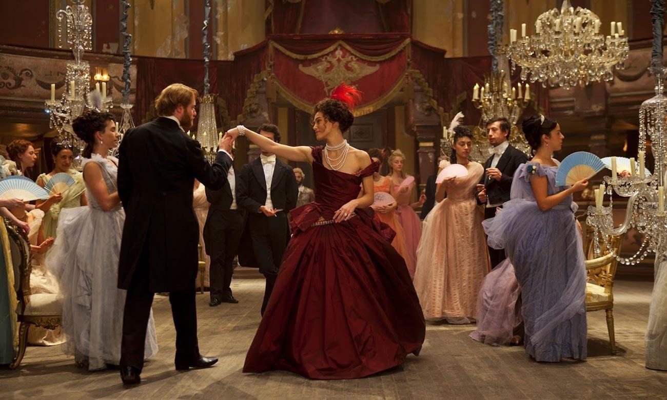 A still from 'Anna Karenina' movie starring Keira Knightley