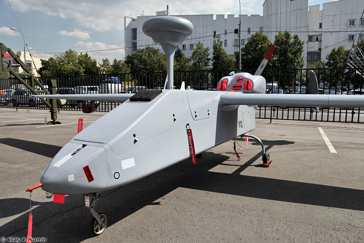 The 'Forpost' unmanned aerial vehicle