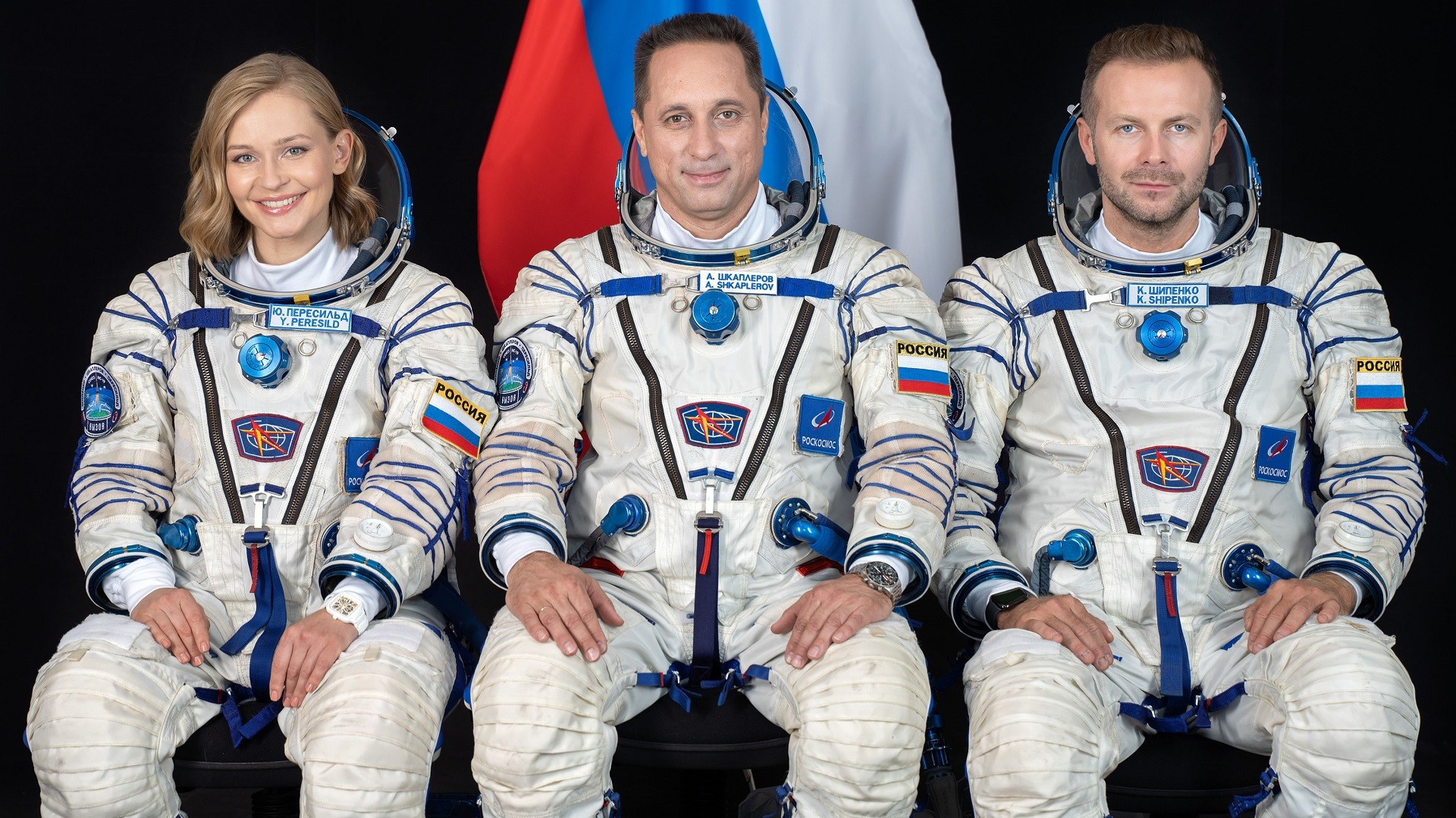 Ioulia Peressild, Anton Chkaplerov et Klim Chipenko