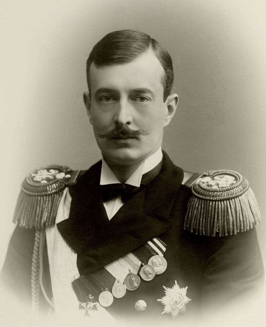 Il granduca Kirill Vladimirovich, bisnonno materno di George Romanov