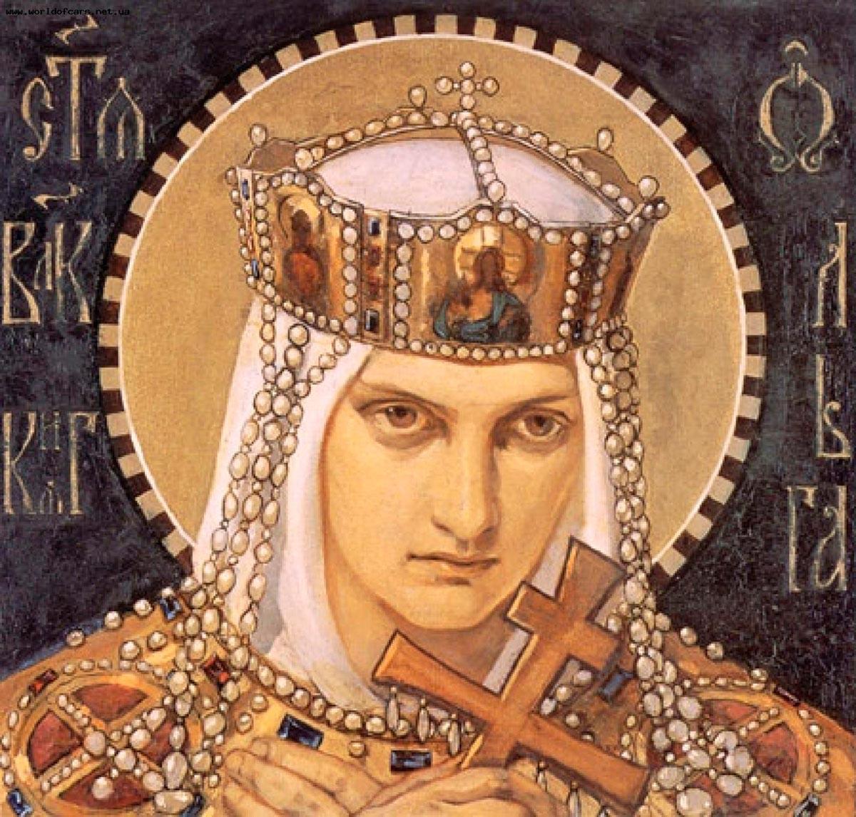 Nikolai Bruni. Saint Olga, 1901