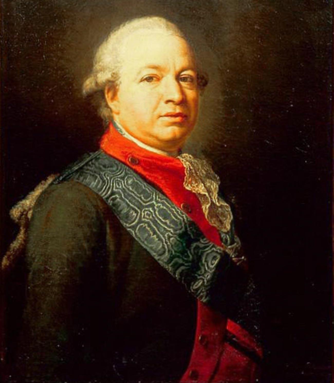 Senator, Graf James Bruce (1732 — 1791) von Pompeo Batoni.