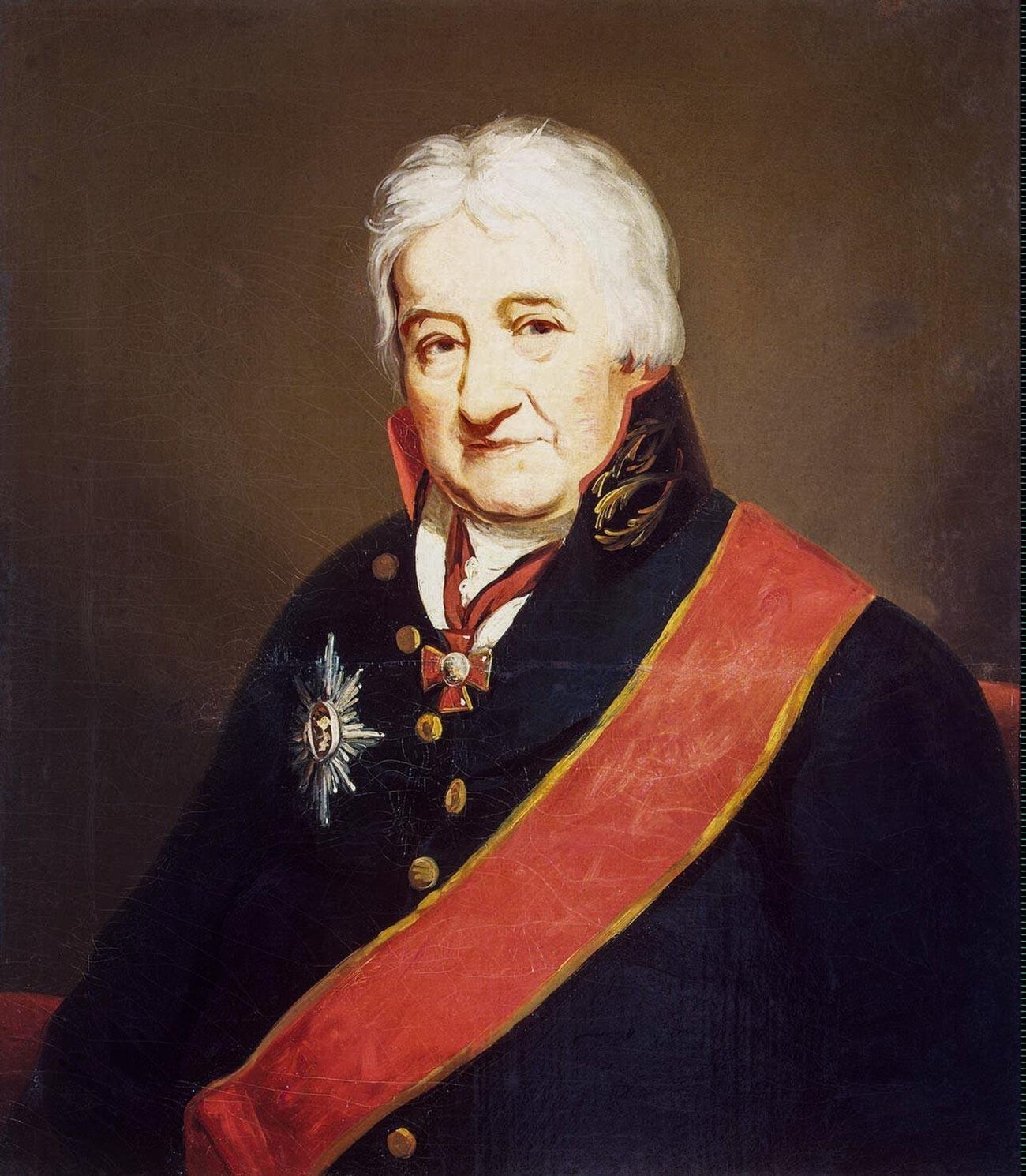 Charles Gascoigne von James Saxon, um 1804.