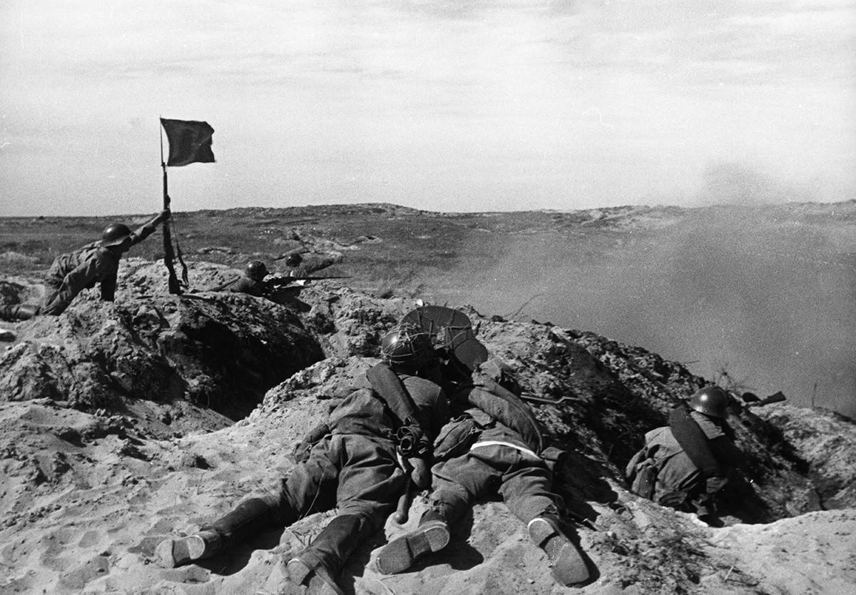The Battles of Khalkhin Gol in 1939.