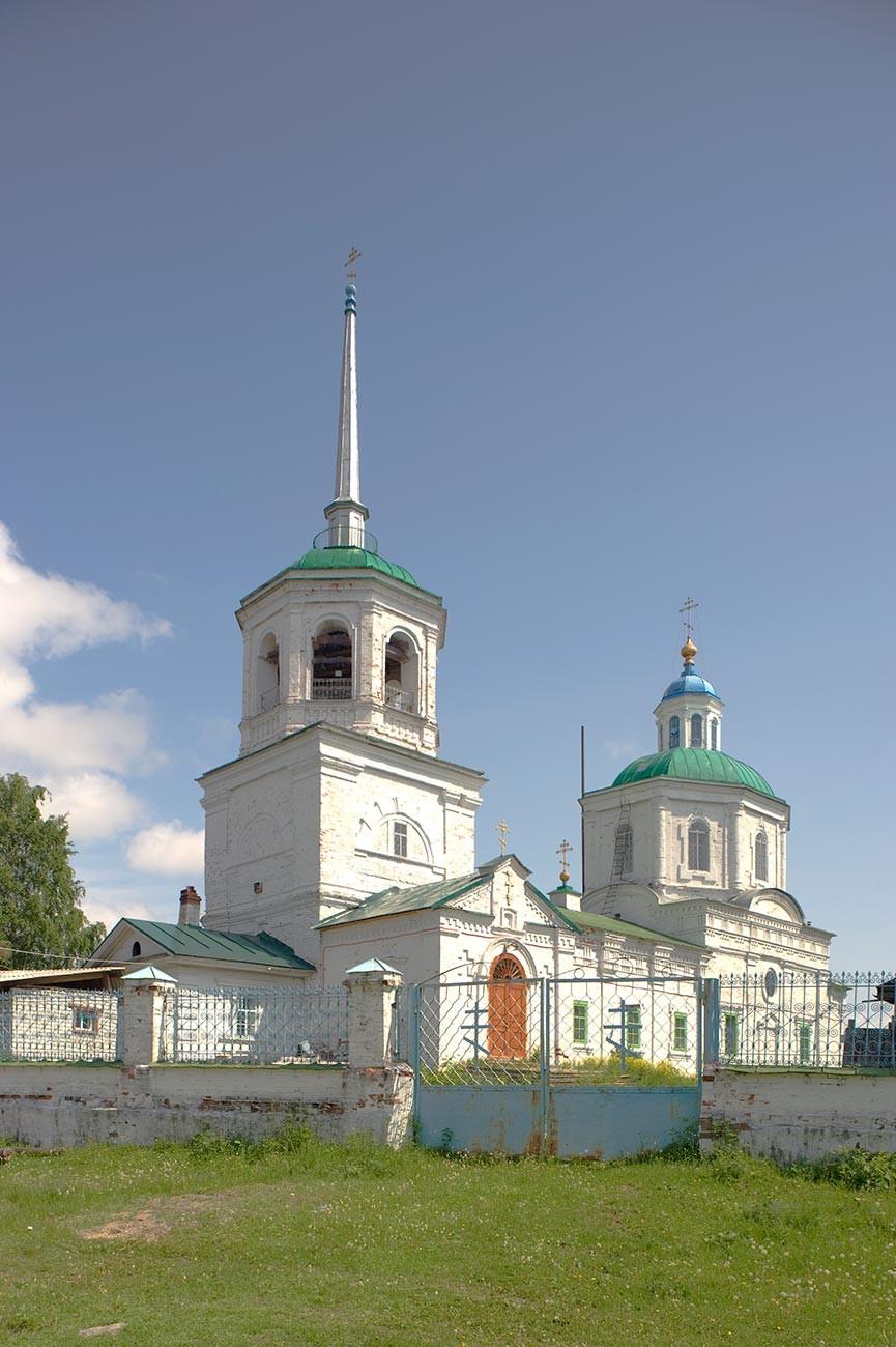 Oriol. Église de la louange de la Vierge