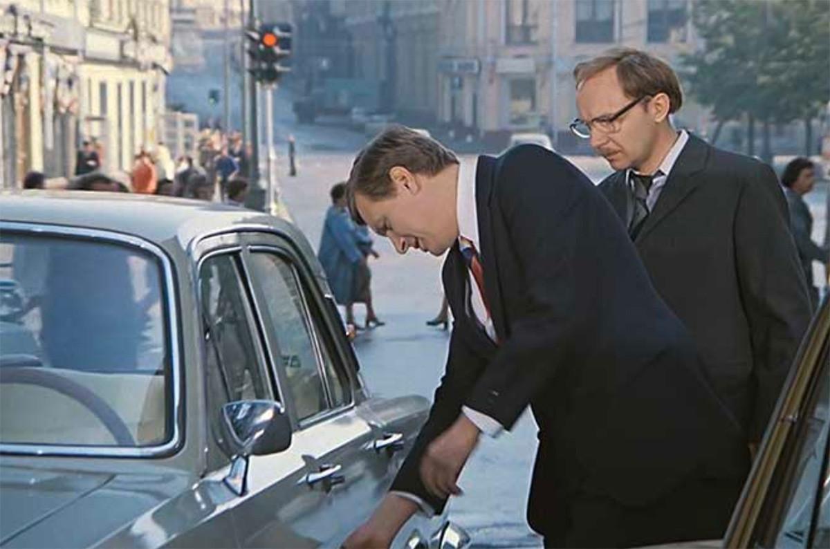 A still from 'Office Romance' movie