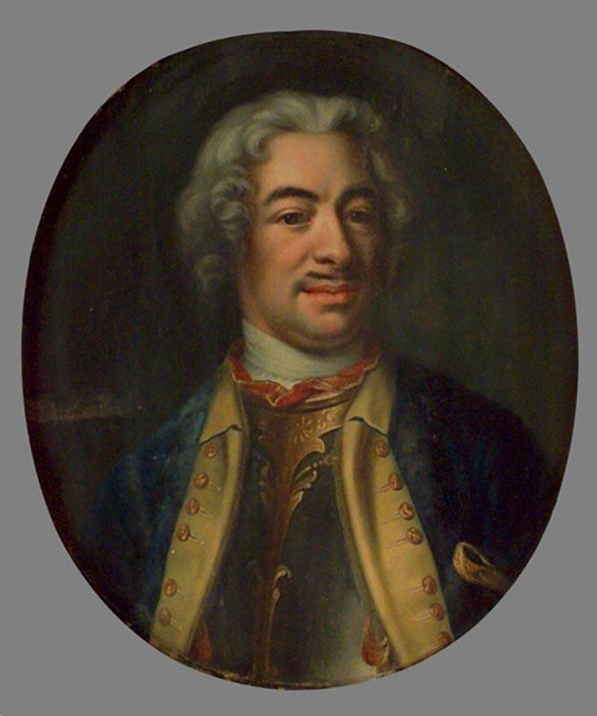 Малкълм Синклер, Йохан Хенрик Шефел, 1728