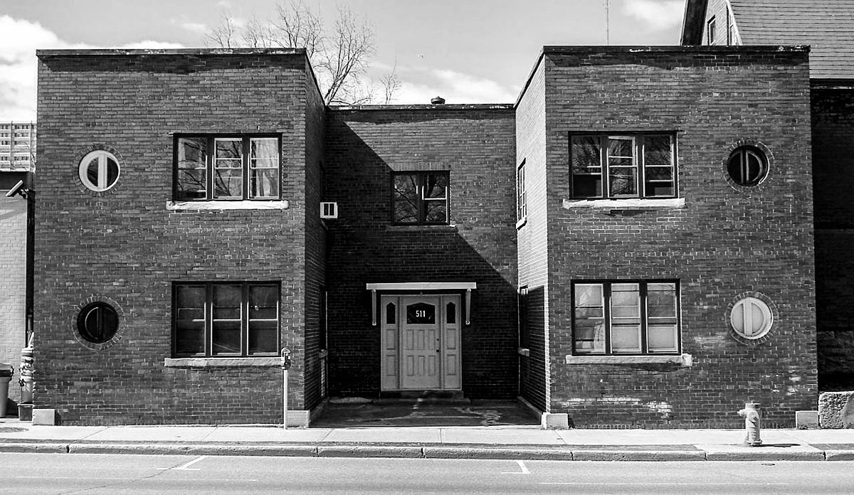 The apartment on Somerset Street in Ottawa, Canada inhabited by Soviet spy Igor Gouzenko in 1945.