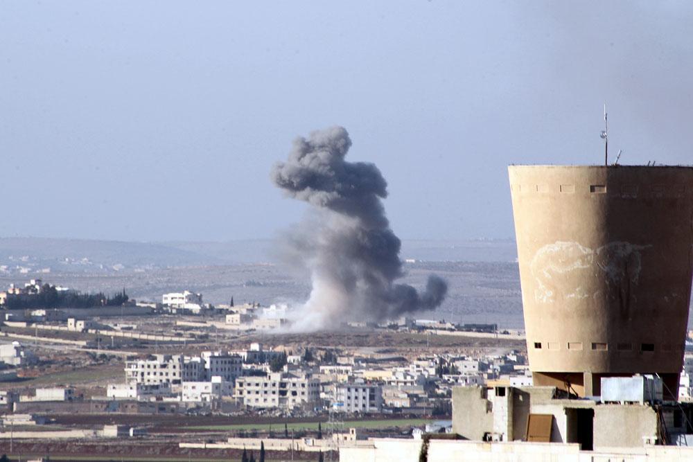 Serangan Udara Koalisi AS Tewaskan Puluhan Tentara Suriah, AS Minta Maaf