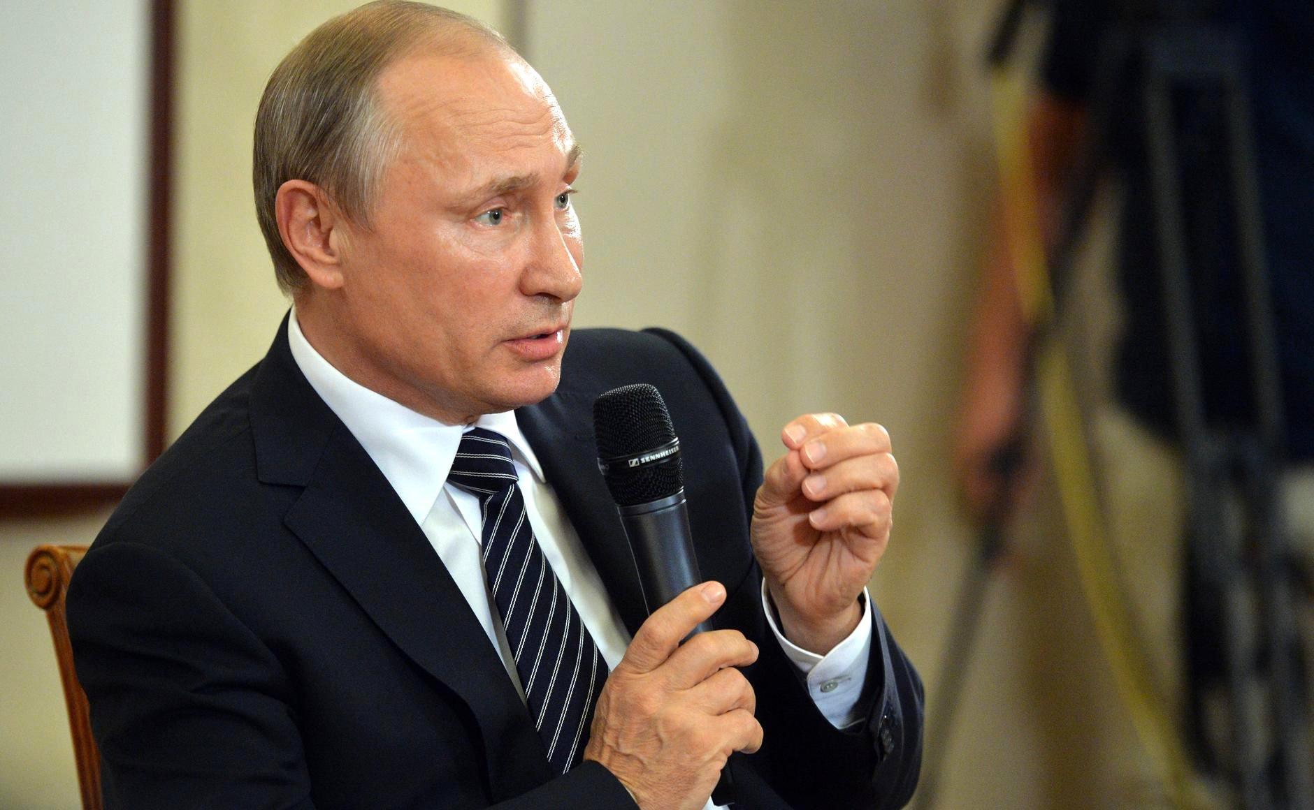 Putin: Lupakan Masa Lalu yang Tragis, Rusia Siap Tumbuh Lebih Kuatg
