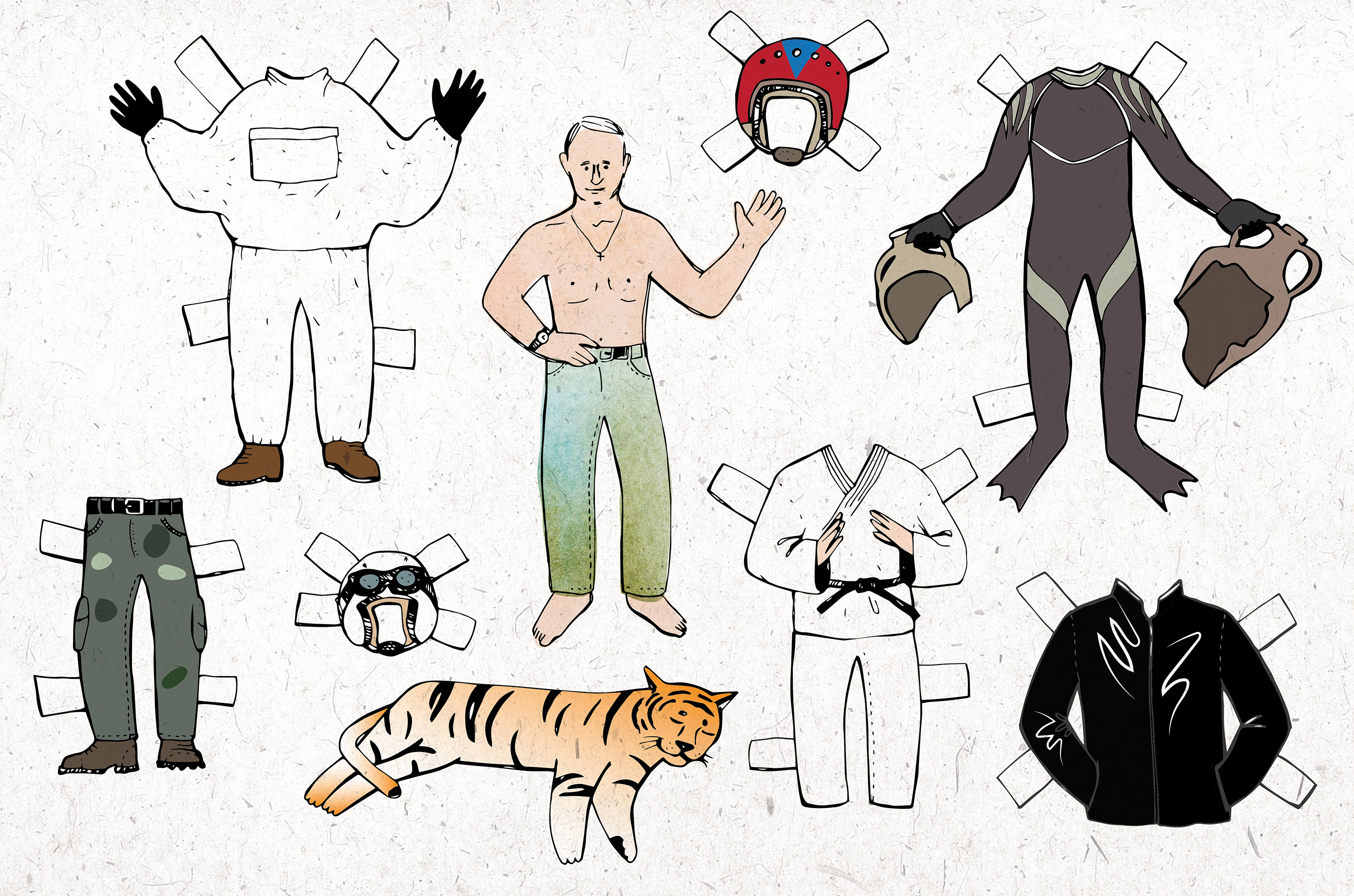 Kenapa Putin Mencitrakan Dirinya Sebagai 'Pria Jantan'?