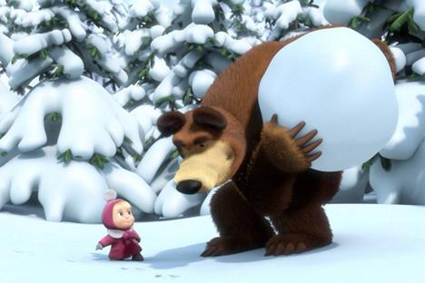 Bagaimana Serial Animasi 'Masha and the Bear' Dibuat?