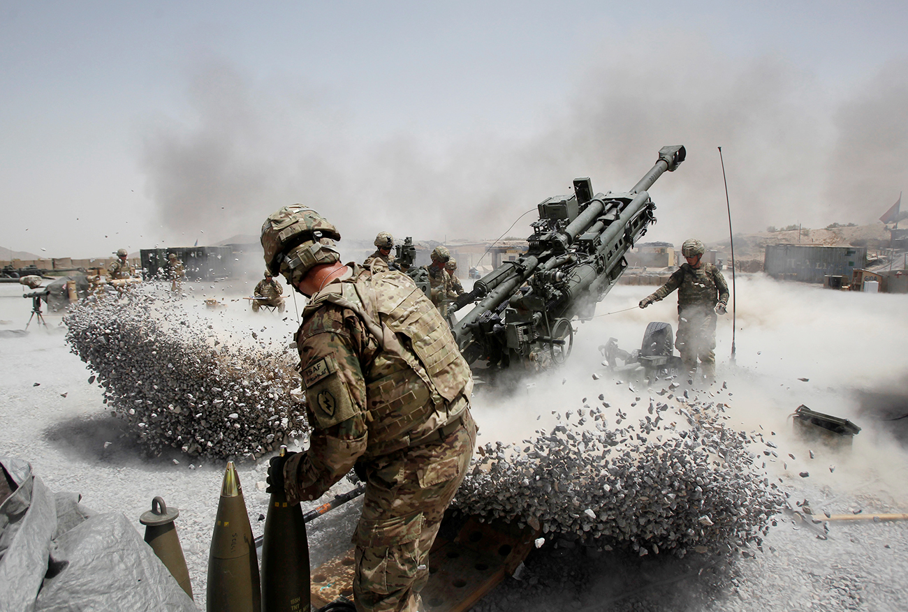 Trump plans to increase defense spending by $54 billion to modernize the U.S. military. Source: Reuters