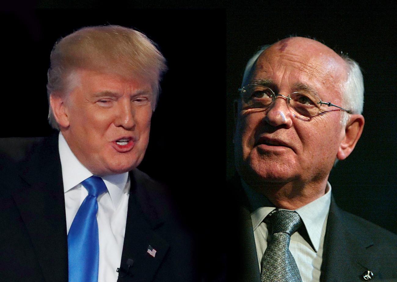 Donald Trump, o Gorbatchov americano? width=