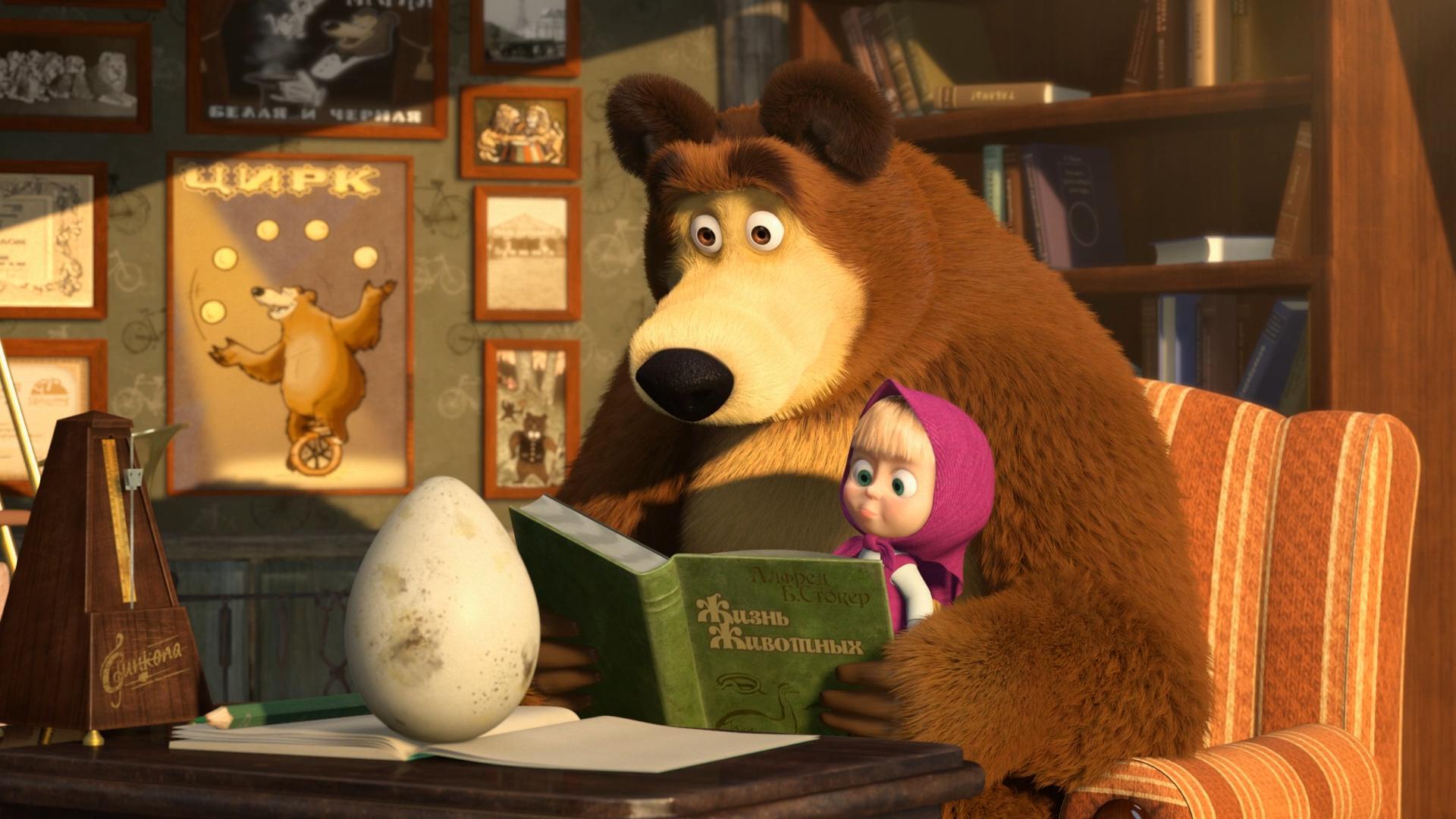 Segala yang Perlu Anda Ketahui Tentang Serial Masha dan Beruang