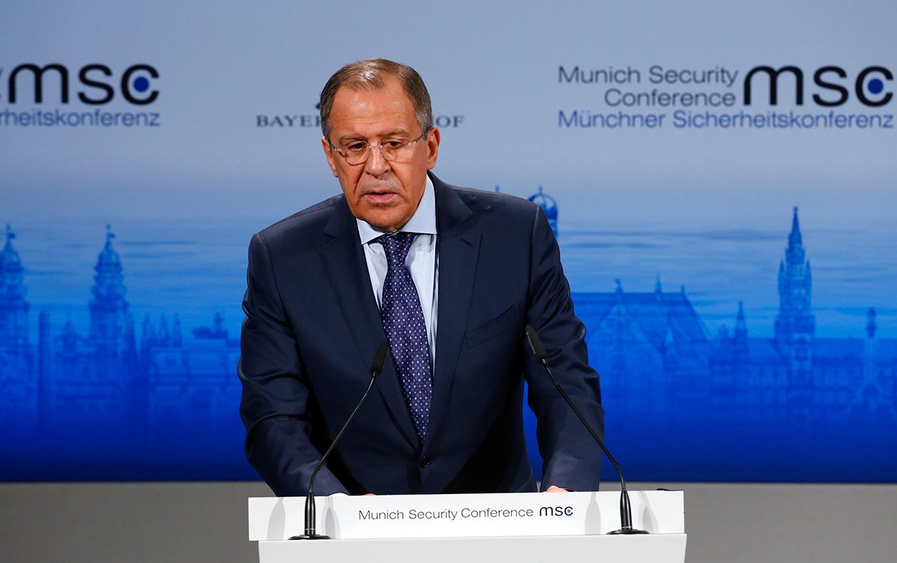 Lavrov Undang Barat untuk Beberkan Bukti Atas Tuduhan Serangan Siber Rusia