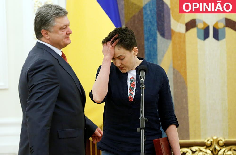 Três prós e nenhum contra a libertação de Sávtchenko width=