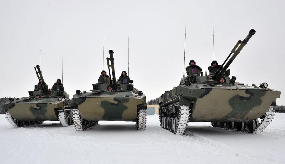 BMD-4M: Kendaraan Tempur yang Jatuh dari Langit