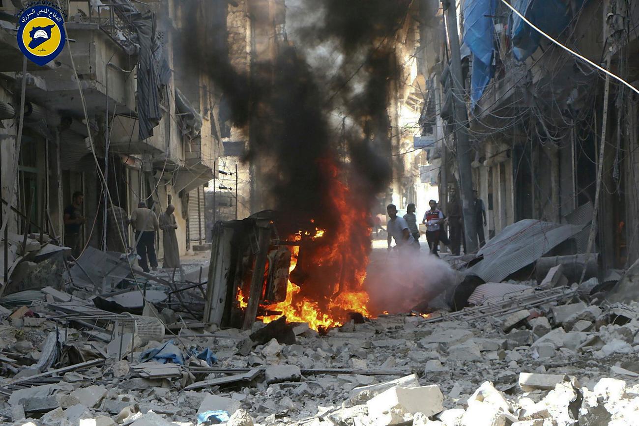 出口見えぬシリア内戦