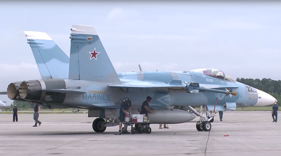 Jet AS Diwarnai Seperti Pesawat Rusia, Muncul Teori Konspirasi di Suriah