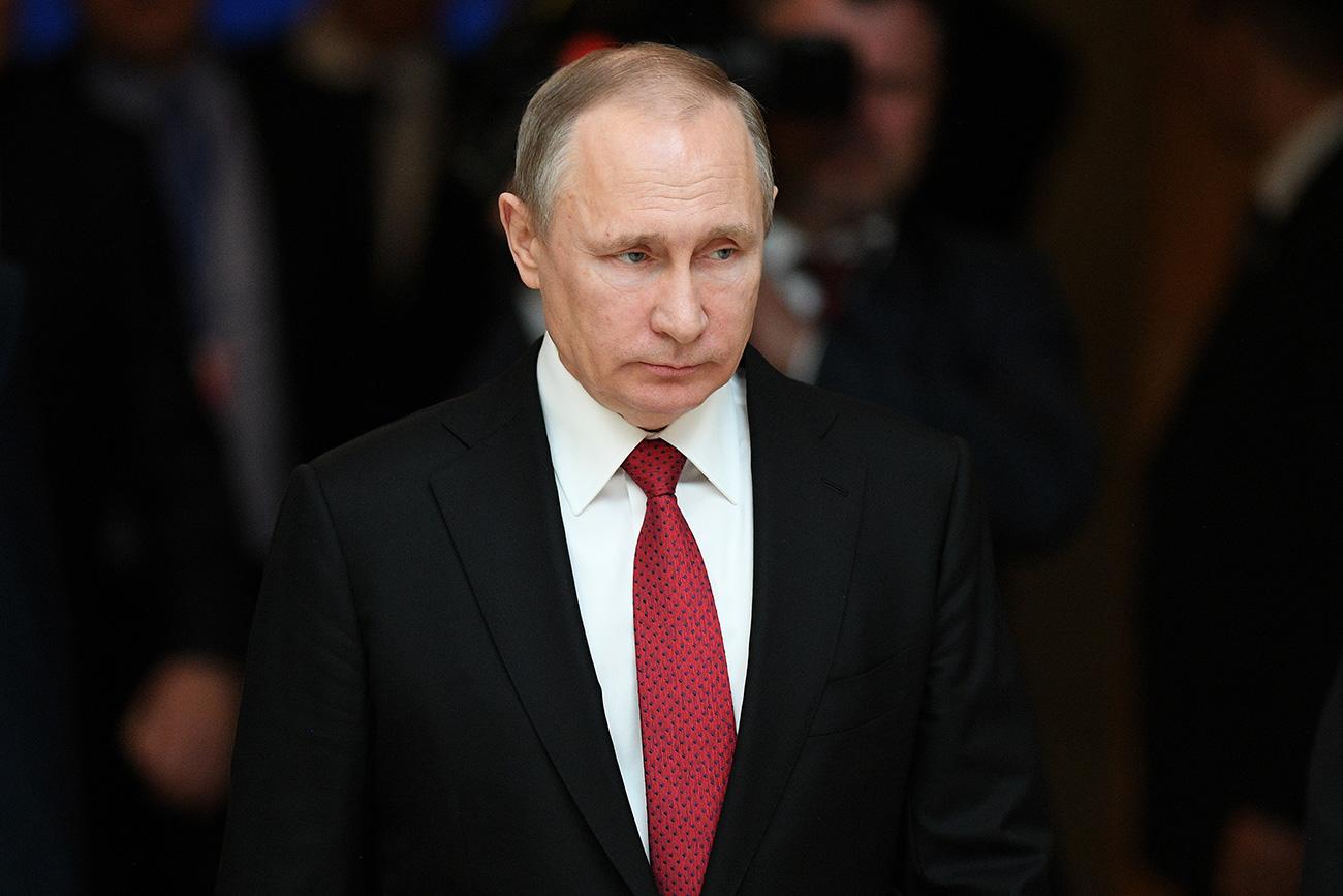 Putin: 755 Orang Utusan Diplomatik AS Harus Meninggalkan Rusia