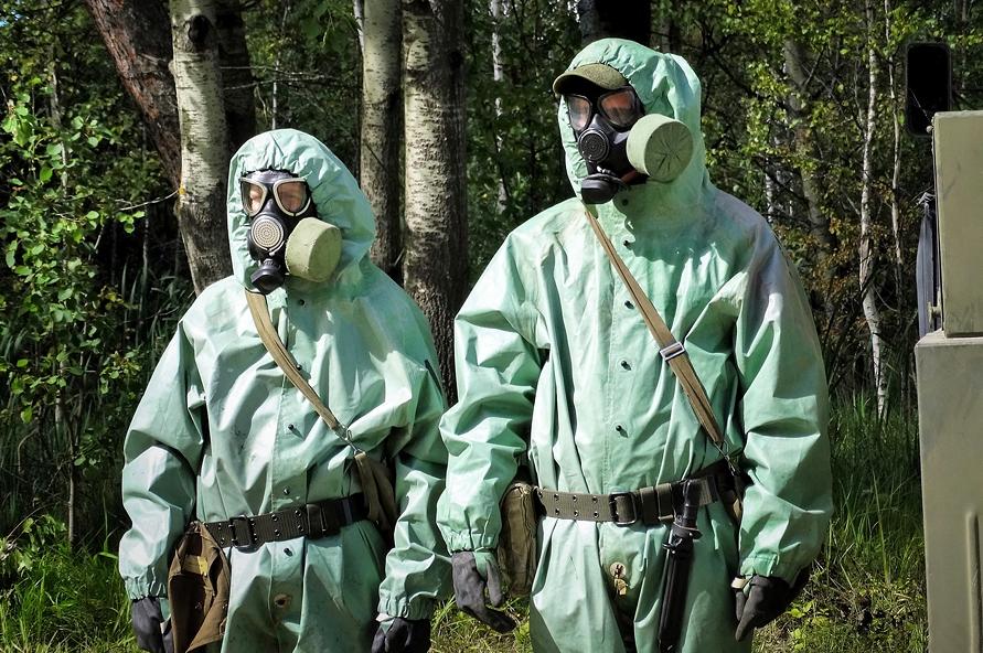 Kemenhan Rusia Temukan Bukti Penggunaan Senjata Kimia di Aleppo