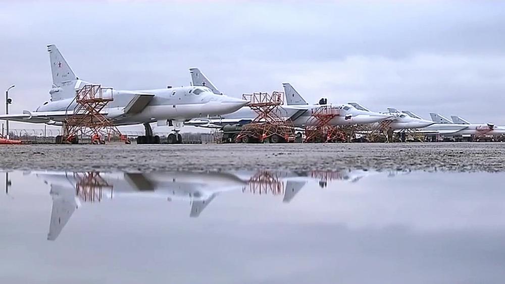 Enam Pesawat Pengebom Tu-22M3 Hancurkan Fasilitas ISIS di Suriah