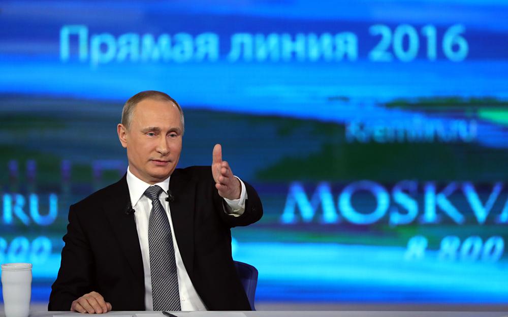 10 Poin Penting yang Disampaikan Presiden Putin kepada Masyarakat Rusia