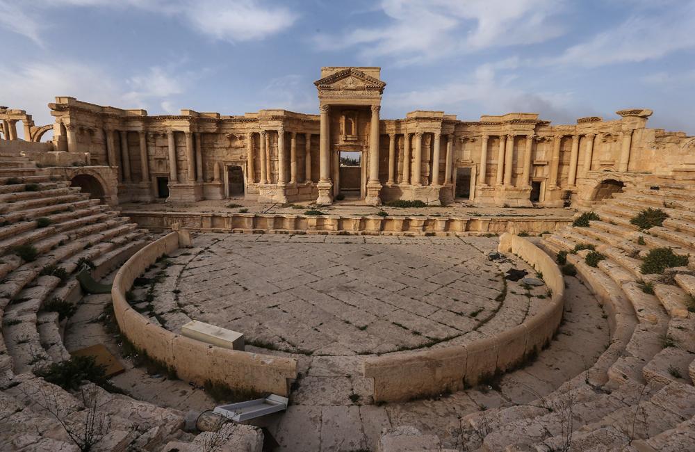 L'italiano che con l'Ermitage salverà Palmira