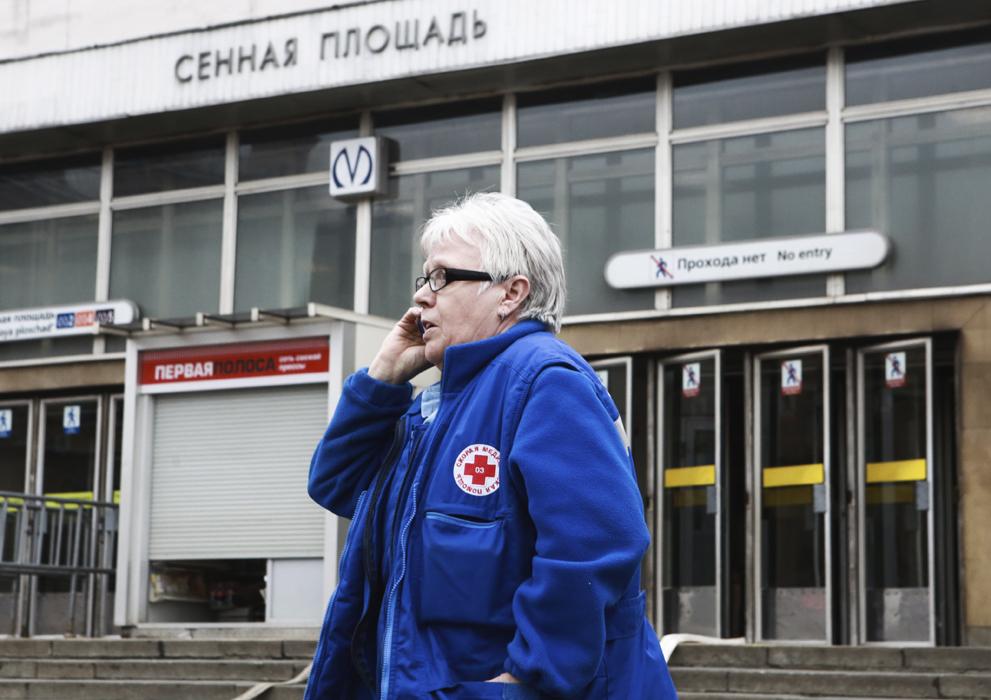 Ledakan Hantam Stasiun Metro Sankt Peterburg, Sepuluh Orang Tewas