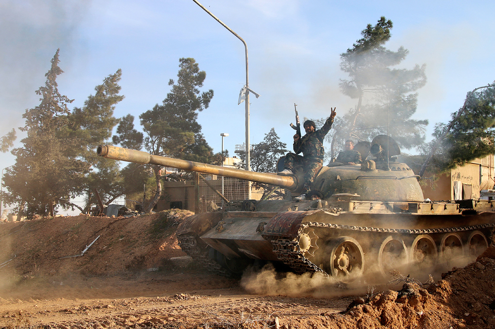 Pasukan Koalisi Pimpinan Rusia dan AS Bergabung dalam Pertempuran Raqqa
