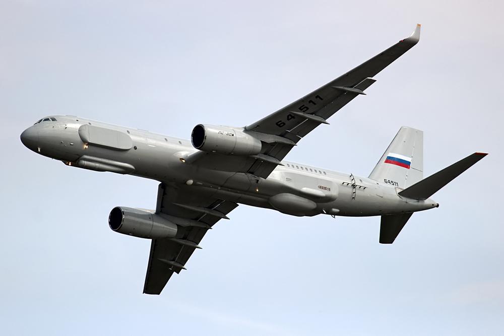 Pesawat Mata-mata Rusia Tu-214R Tiba di Suriah