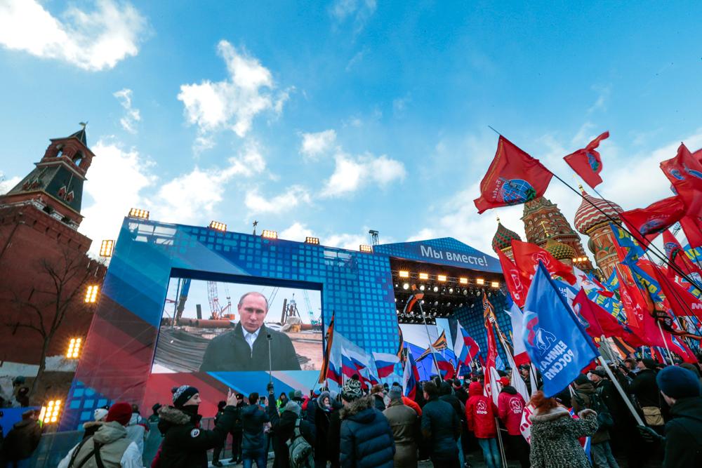 Apakah Putin Berambisi Membangkitkan Kembali Uni Soviet?