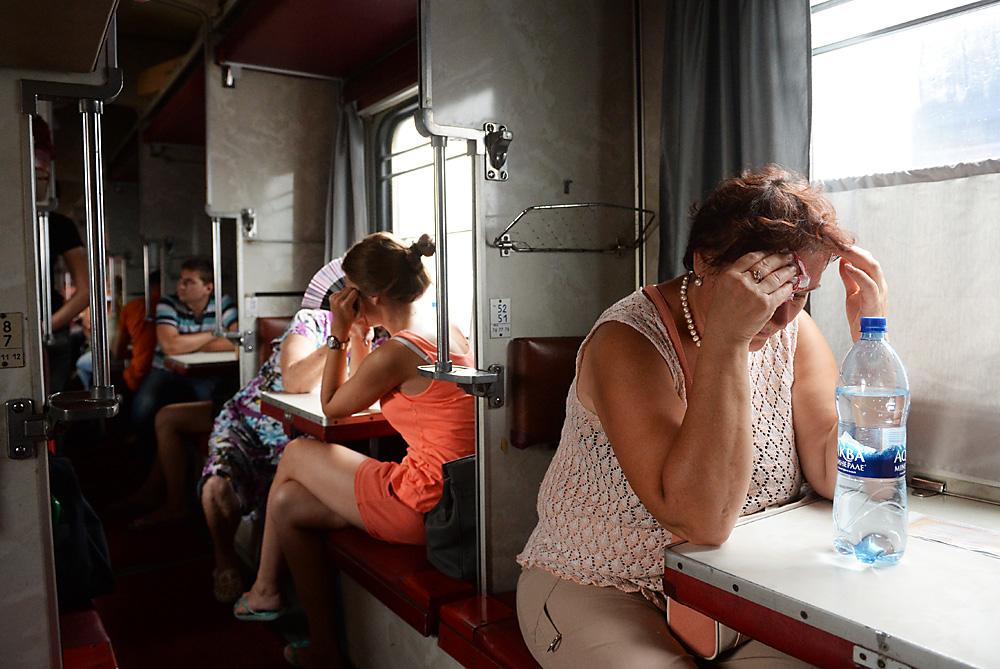 Come sopravvivere su un treno russo