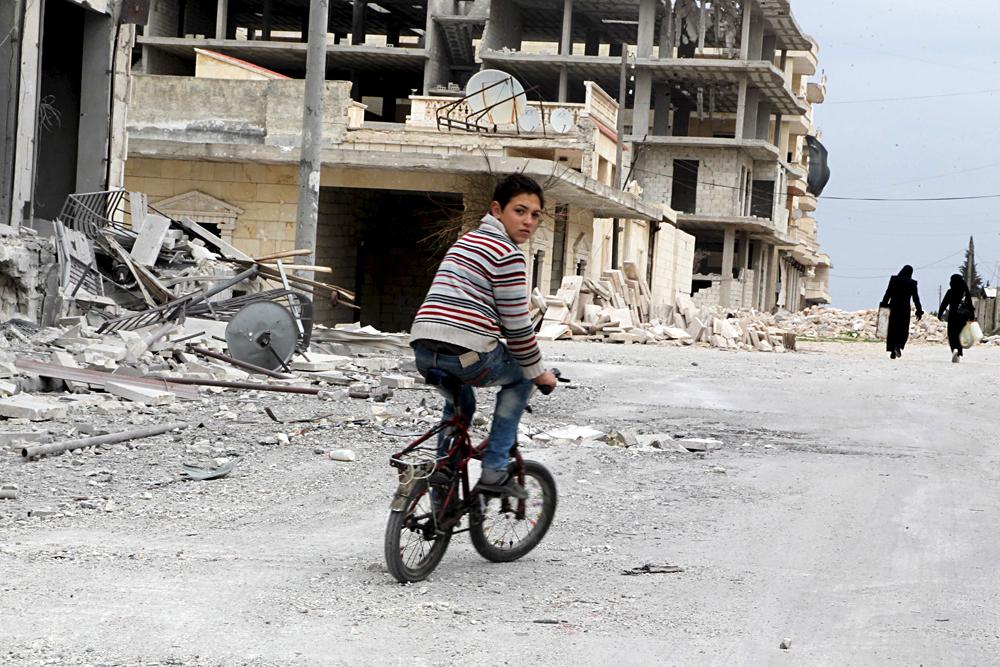 Kamp Pengungsi Dekat Aleppo Dibom, Permainan Saling Tuduh Kembali Dimulai