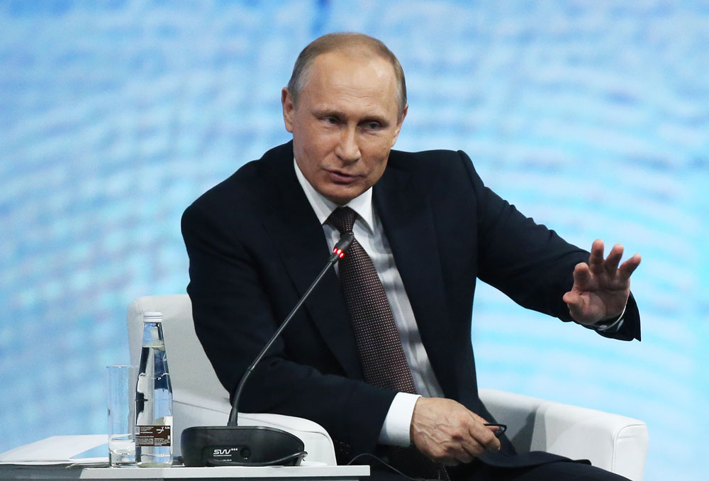 Putin: Seluruh Umat Beragama Harus Bersatu Melawan Terorisme