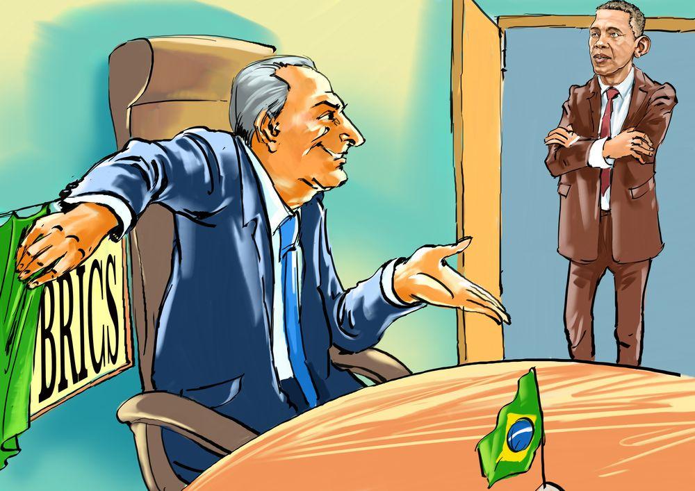 Brasil no Brics: saída, inércia ou reajuste? width=
