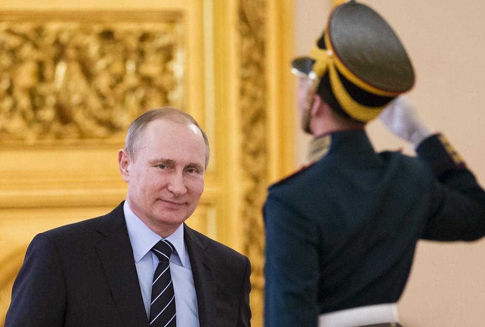 Putin Puji Hasil yang Dicapai Partai Rusia Bersatu pada Pemilu Parlemen