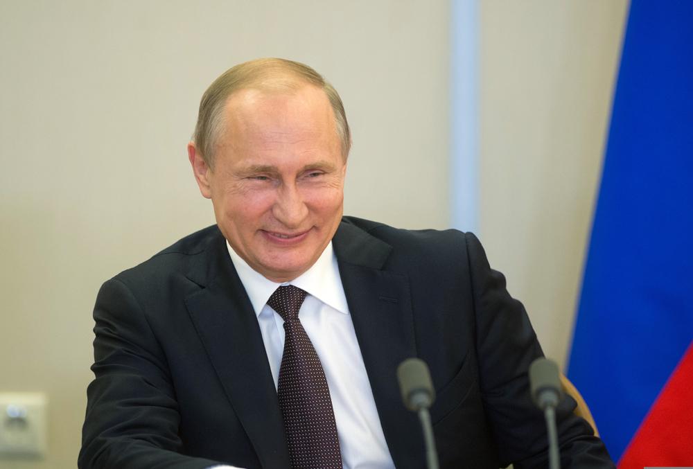 푸틴 대통령의 유머 감각